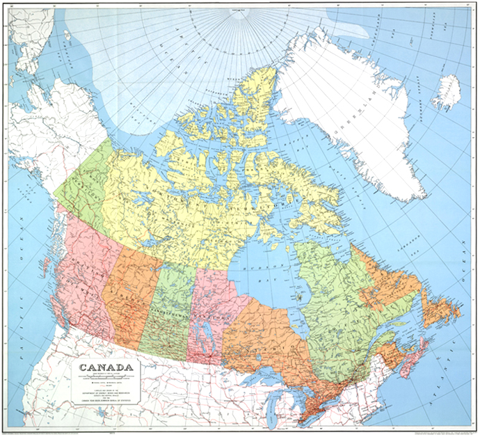 Map Of Canada Government Of Canada.All You Need To Know About Canadian Federalism Spectator Tribune
