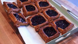 Sleepy Owl's Prairie Berry pastry makes a sweet treat.